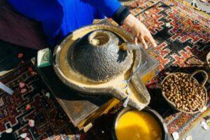 lavorazione olio argan