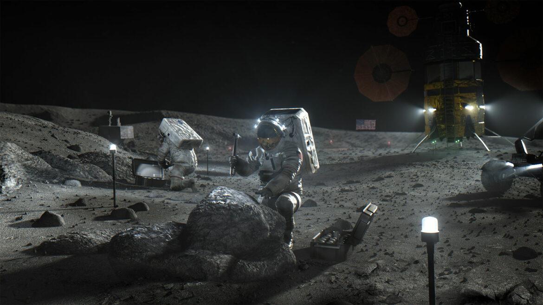 luna astronauti