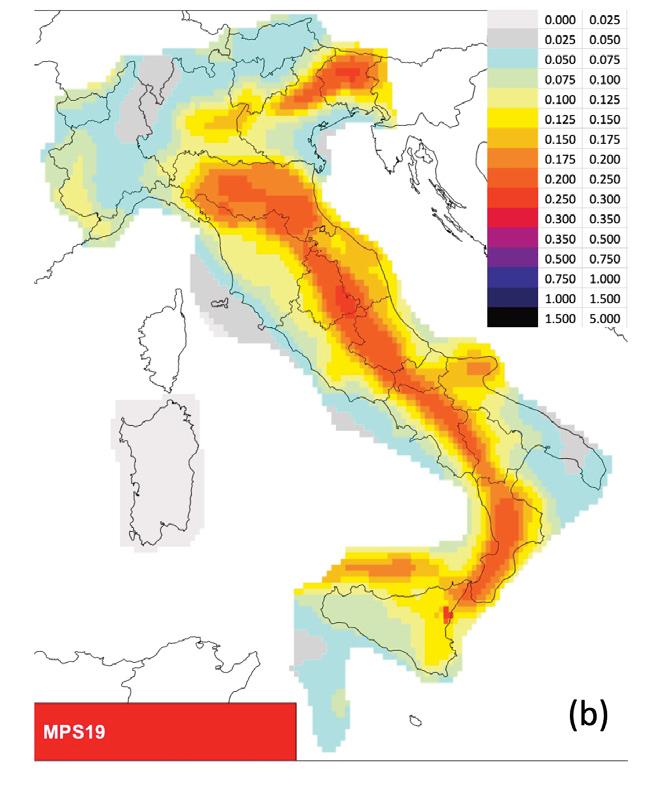 Cartina Italia Terremoti.Nuova Mappa Di Pericolosita Sismica Per L Italia