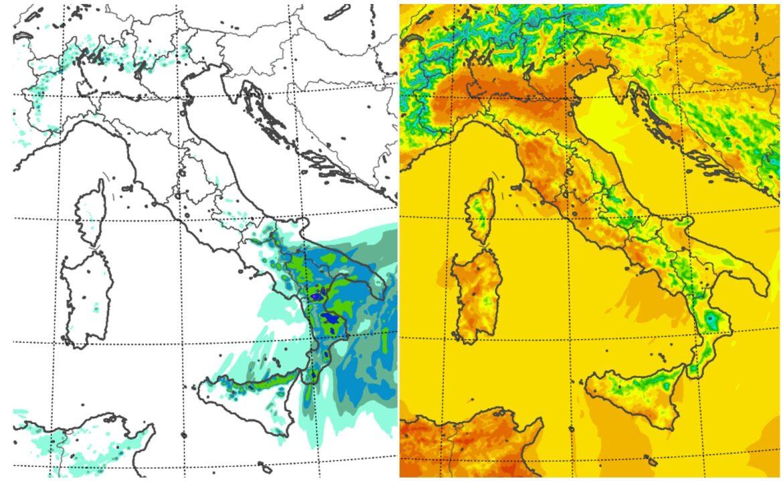 meteo italia sabato 24 aprile 2021