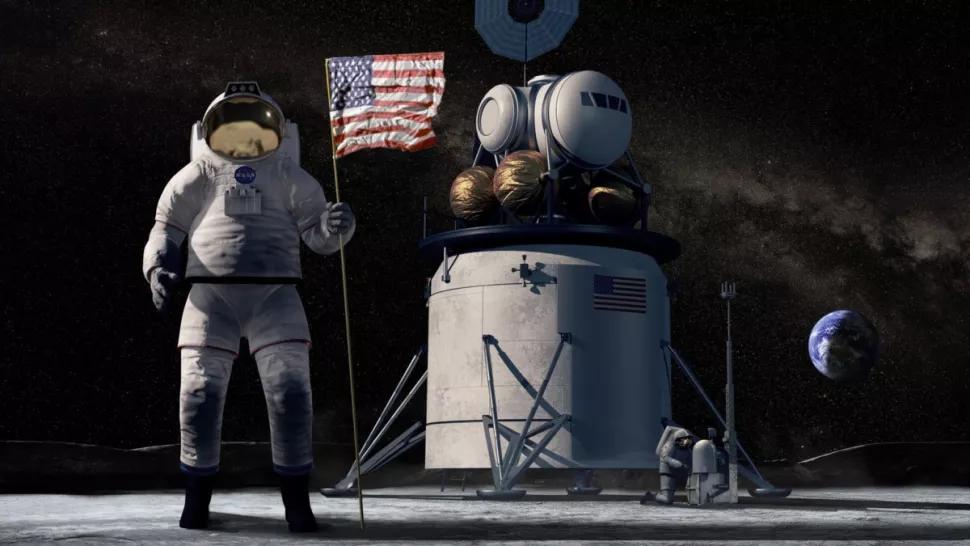nasa astronauti luna