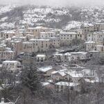 Maltempo Abruzzo, neve fino a 1.100-1.200 metri: fiocchi anche a Roccaraso e Pescasseroli [VIDEO]