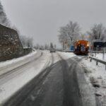 Maltempo e freddo in Calabria: in Sila torna la neve, piove sul resto della regione [FOTO]