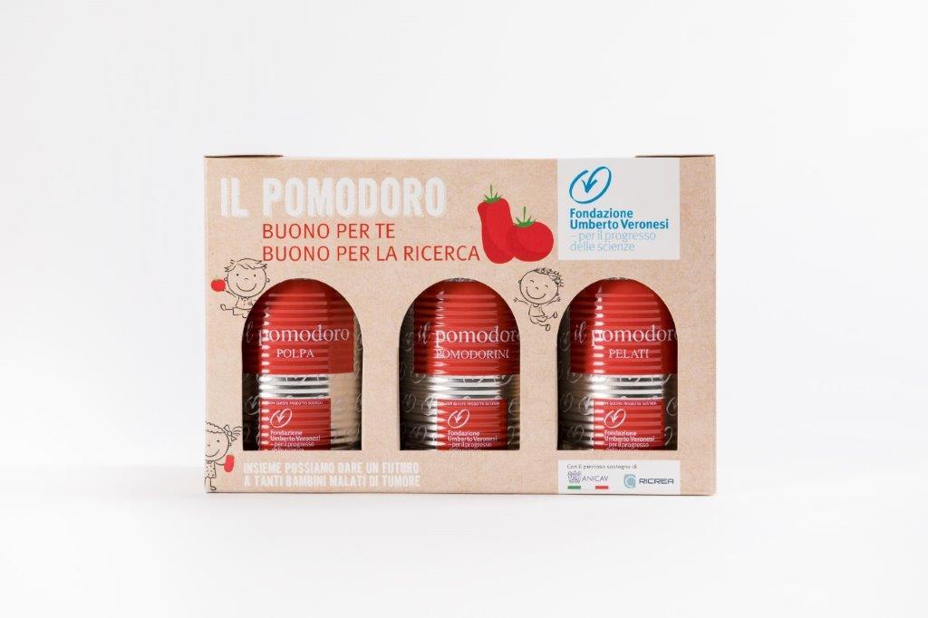 pomodoro ricerca fondazione veronesi