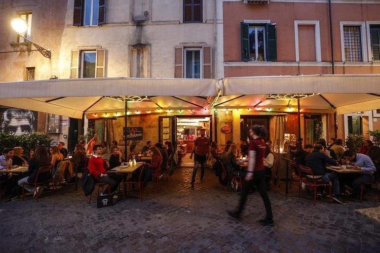Roma. Foto di Giuseppe Lami / Ansa
