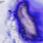 Meteo, il super tifone Surigae di categoria 5 è da record: venti di 305km/h e pressione centrale di 888hPa, è il ciclone tropicale più intenso mai registrato ad aprile