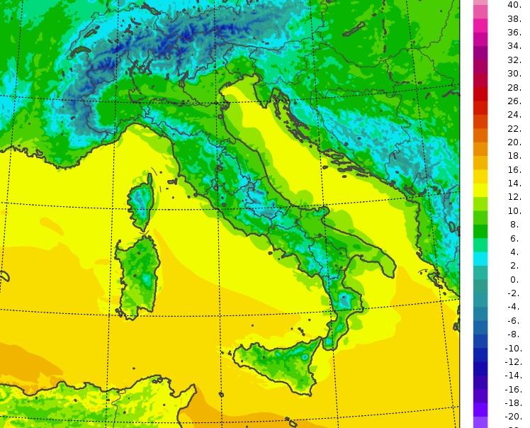 Il Meteo intemperature minime oggi italia Italia: le temperature minime registrate oggi, 21 Aprile 2021, in alcune località italiane