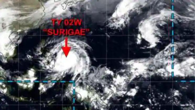 Credit: Typhoon Warning Center