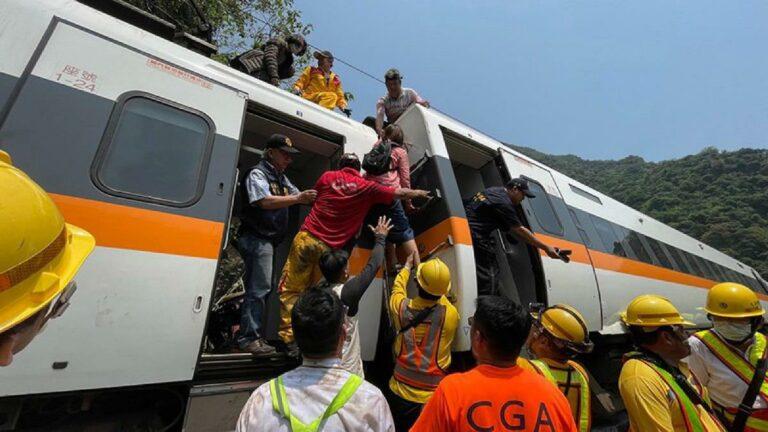 Foto EPA / Hualien Speedy News hsnews.com.tw / Ansa
