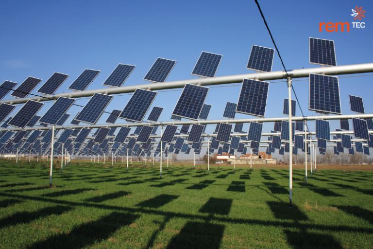 Agrovoltaico® plant Rem Power Virgilio, Borgo Virgilio, Mantua, Italy, 2011, Photo by Nicola Ventura