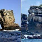Crollato il Darwin's Arch nelle Galapagos: della celebre formazione rocciosa rimangono solo 2 colonne [FOTO]