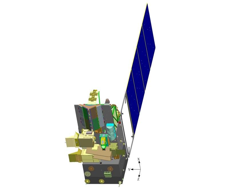 Fengyun-3E satellite meteo tramonto alba cina