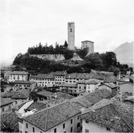 Il Castello di Gemona prima del 6 maggio 1976