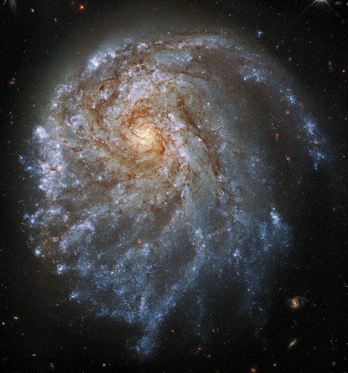 Hubble galassia spirale NGC 2276