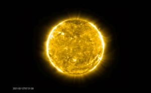 Solar Orbiter espulsione di massa coronale