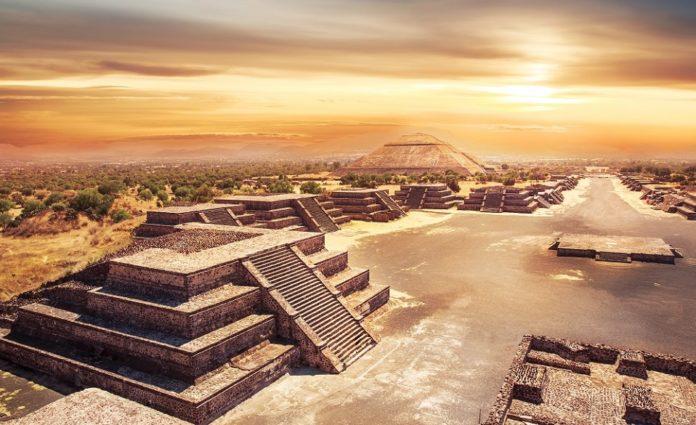 Teotihuacan-piramidi