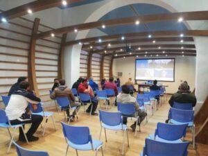 aula formazione pescatori Licata