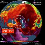 Meteo, super ondata di caldo nella Penisola Arabica e in Medio Oriente: sfiorati i +50°C, temperature record anche in Russia [DATI]