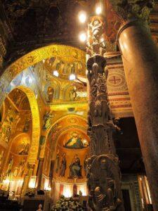 candelabro cappella palatina palermo