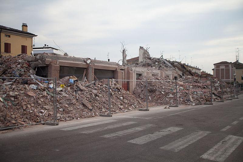 cavezzo terremoto emilia 2012