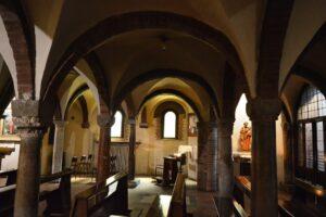 cripta chiesa crocifisso bologna