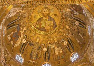 cristo pantocratore cappella palatina palermo