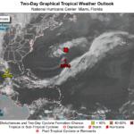 Meteo, nel weekend potrebbe formarsi la tempesta tropicale Ana: verso un inizio anticipato della stagione degli uragani atlantici [MAPPE]