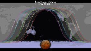 eclissi superluna di sangue 26 maggio