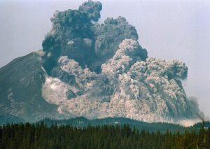 eruzione sant'elena