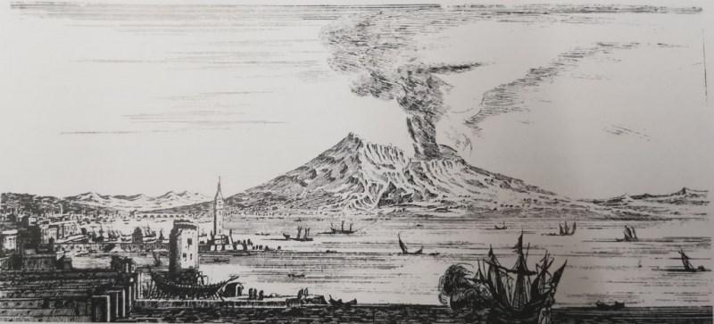 eruzione vesuvio 1660