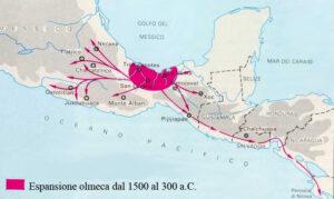 espansione olmechi