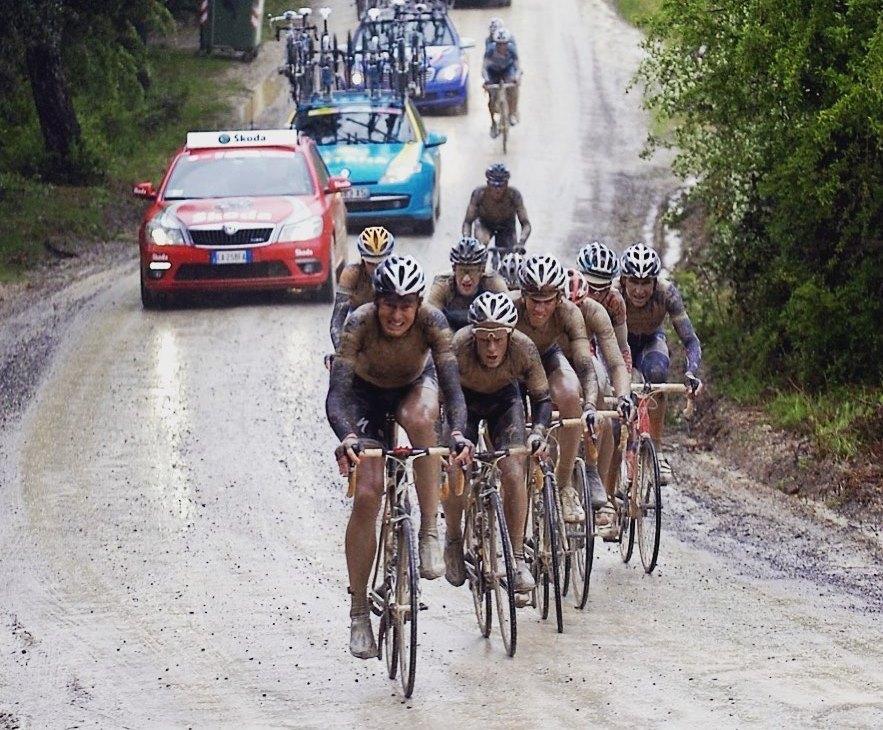 giro d'italia sterrato montalcino 2010