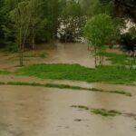 Maltempo, forti temporali in Friuli: piogge abbondanti nell'est della regione al confine con la Slovenia, Isonzo in piena [FOTO]