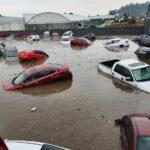 Maltempo in Messico: drammatica alluvione a Metepec, strade come fiumi e auto galleggianti [FOTO e VIDEO]