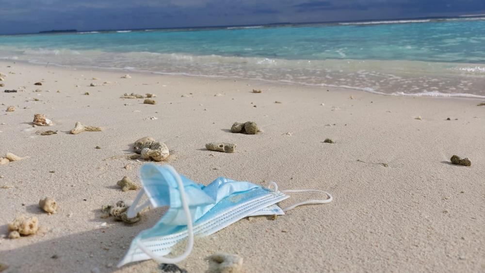 mascherina mare ambiente inquinamento