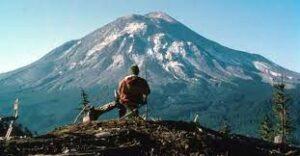 monte sant'elena prima eruzione