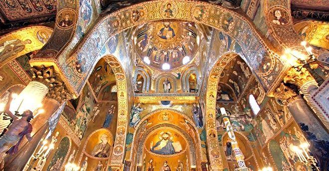 mosaici cappella palatina palermo