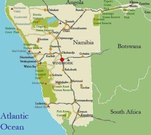 namibia mappa
