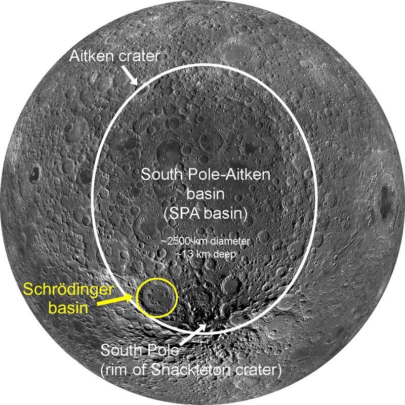 nuova mappa luna