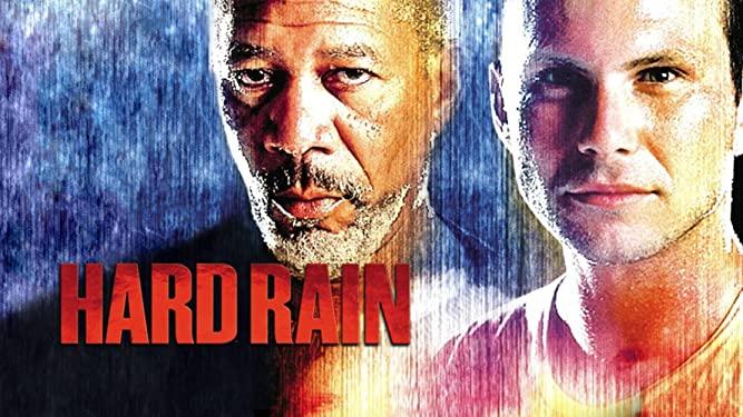 poster hard rain