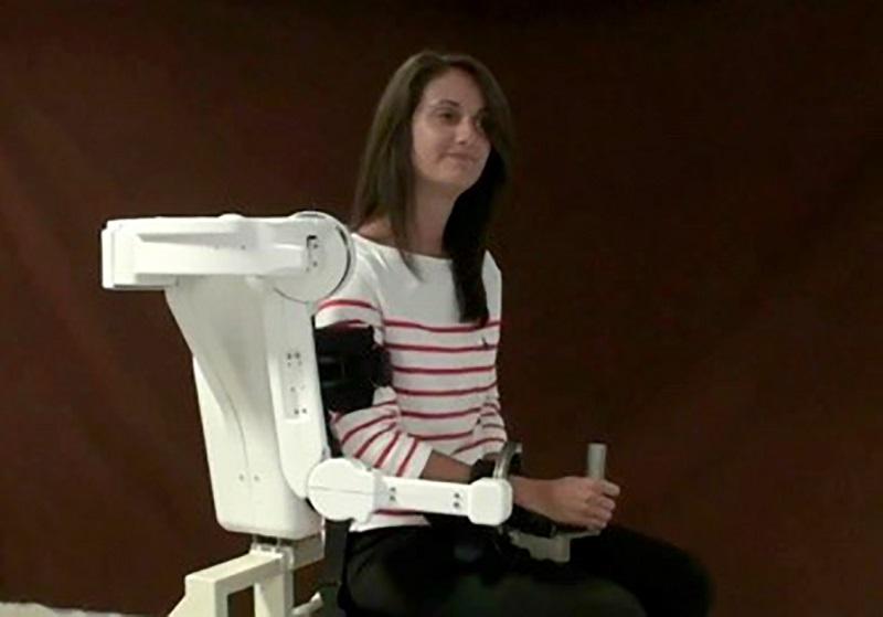 tecnologia robotica riabilitativa. Credit PERCRO