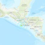 Forte terremoto scuote El Salvador, scossa al largo della costa [DATI e MAPPE]