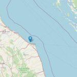 Terremoto Marche: scossa avvertita ad Ancona, epicentro al largo di Falconara Marittima [DATI e MAPPE]