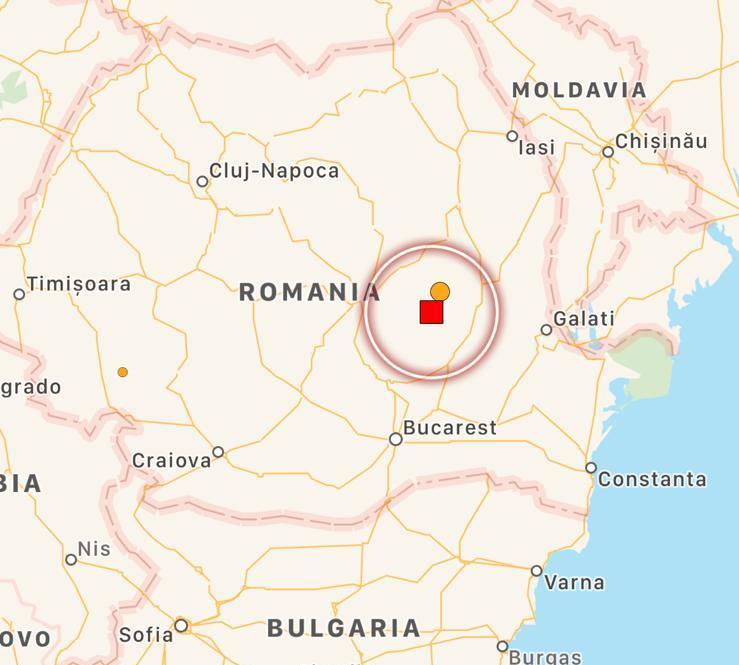 terremoto romania
