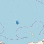 Scossa di terremoto M 3.5 nel Tirreno meridionale, al largo delle Isole Eolie [DATI e MAPPE]