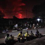 Congo, si ferma la colata di lava del vulcano Nyiragongo ma l'incubo non è finito: fuoco e forti fumi minacciano la popolazione [FOTO]