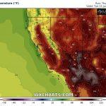 Meteo, allerta per caldo estremo negli USA occidentali: Phoenix e Las Vegas verso i +46°C, +52°C nella Valle della Morte