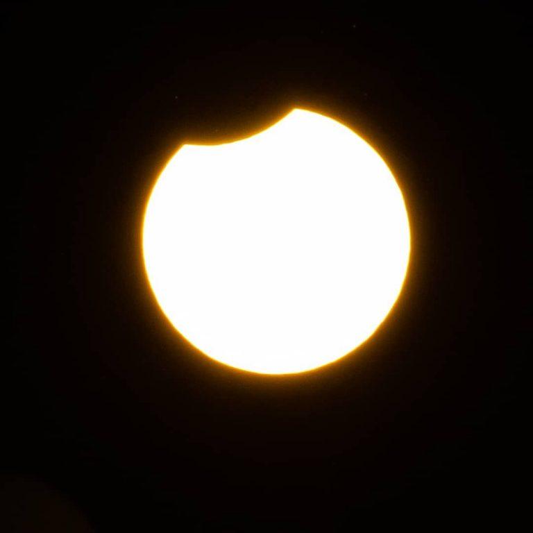 L'eclissi vista dal Nord Italia