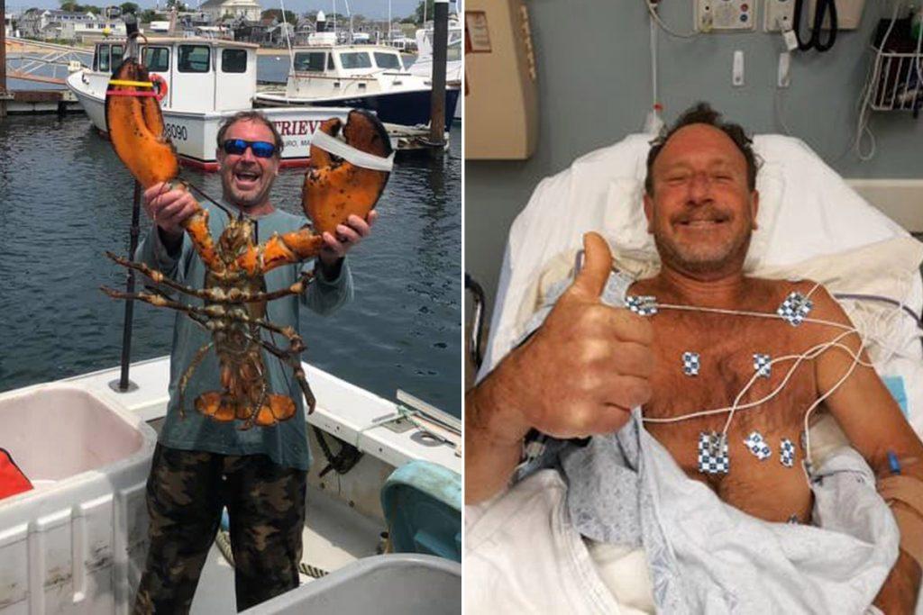 Michael Packard pescatore mangiato da balena
