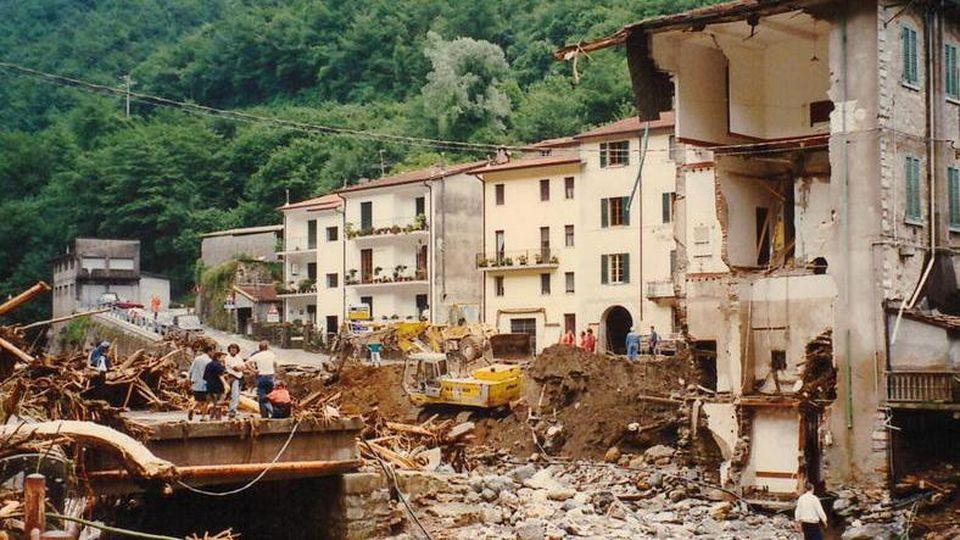 alluvione versilia 19 giugno 1996